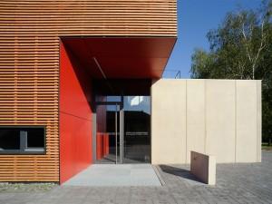 Werkstatt- und Funktionsgebäude, LfULG, Dresden-Pillnitz