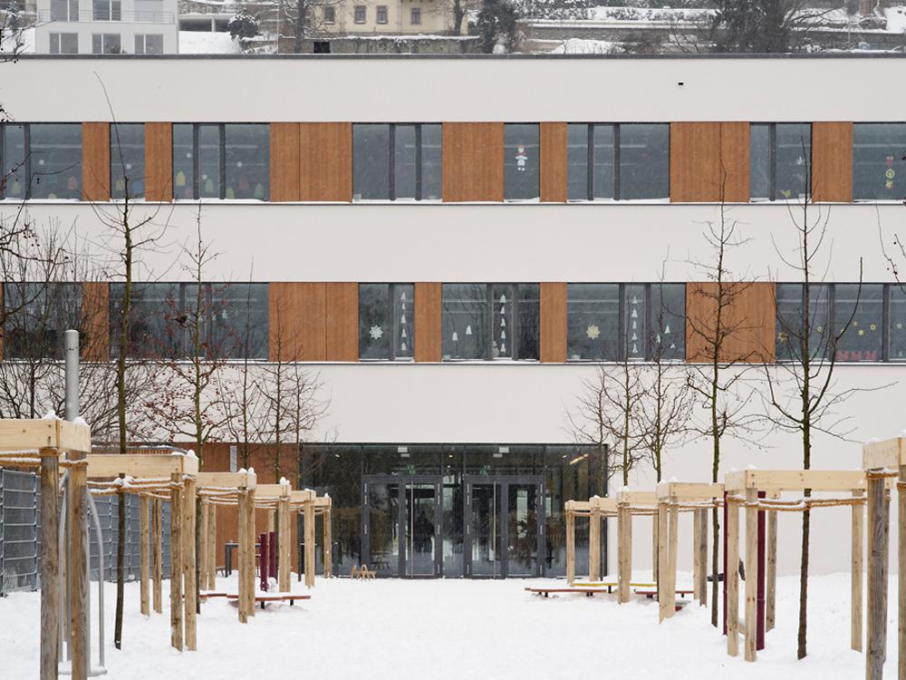 Neubau Passivhausschule, Dresden-Loschwitz
