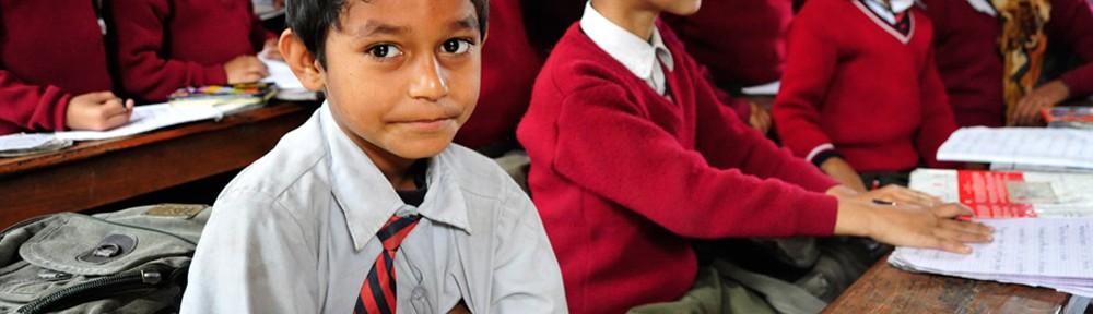 Schule in Nepal - Besuch 2011
