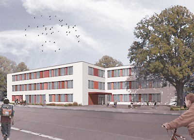 Baubeginn Neubau 144. grundschule Dresden-Pieschen