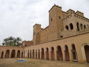 Lehmbau Marokko - Kasbah Caid Ali