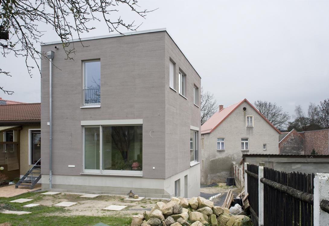 Gartenansicht Haus L