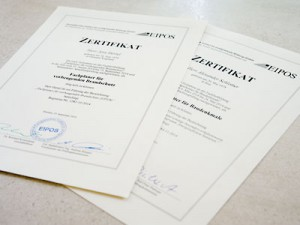 Weiterbildung zum Fachplaner für vorbeugenden Brandschutz und zum Energieberater für Baudenkmale abgeschlossen