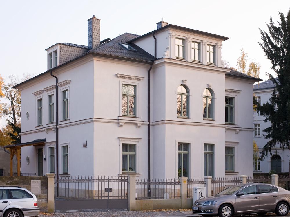 Stadthaus Dresden-Neustadt - Straßenansicht